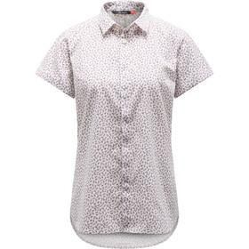 Haglöfs Idun SS Shirt Women Acai Berry Flower